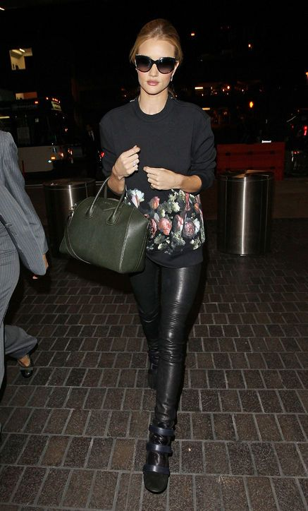 Rosie Huntington-Whiteley—Glamour's Style Icon of the Week—Inspires Us To Amp Up Our Travel Style