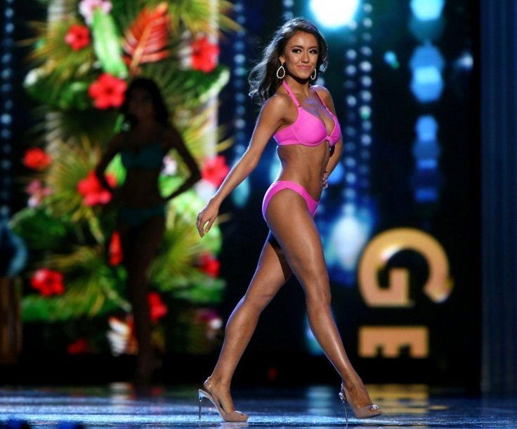 Watch video · The swimsuits have been replaced by onstage interviews, which have generated attention-grabbing remarks from contestants regarding President Trump, and NFL player protests, among other topics. In her onstage interview Sunday, Miss Massachusetts Gabriela Taveras said people should put their social media devices down for a while.