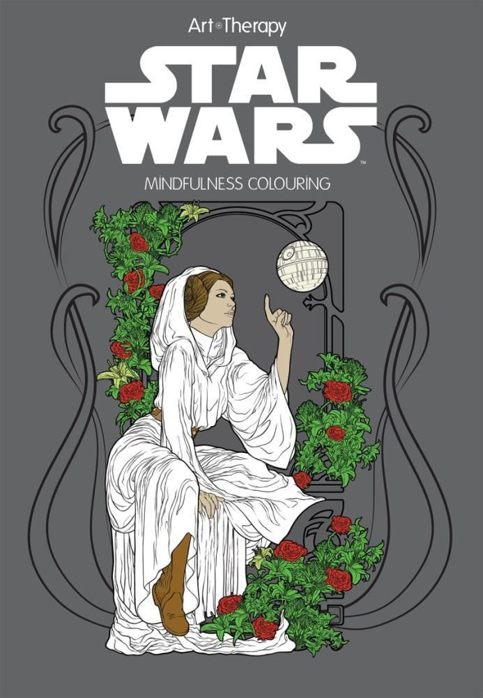 There's a colouring book for everyone - even Star Wars fans!