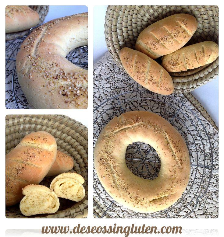 Deseos Sin Gluten: ROSCA DE PAN ESPECIADO SIN GLUTEN