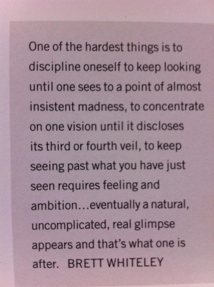 brett whiteley quote