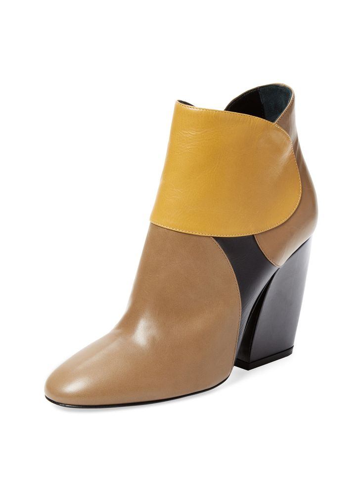 Pierre Hardy Colorblock Leather Bootie at Gilt saved by #ShoppingIS