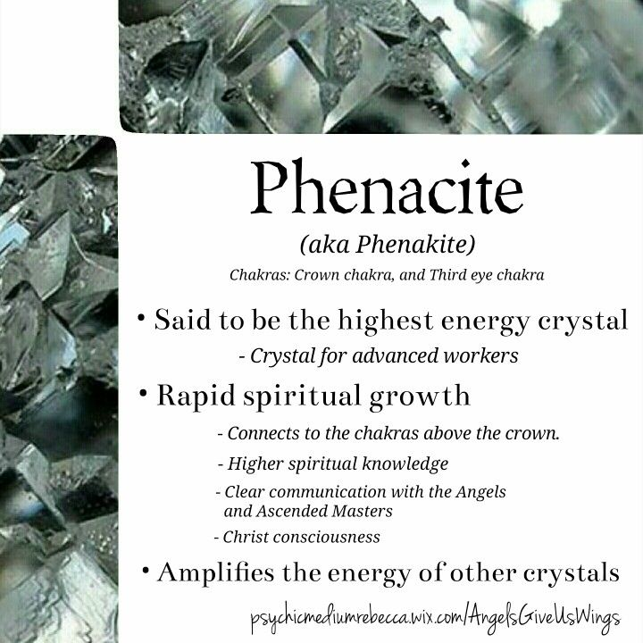 Phenacite crystal meaning
