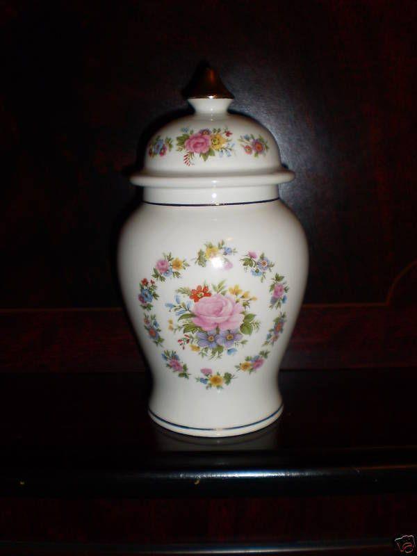 Sadler England Ceramic Lidded Vase Jar Storage Trinkets Ornament