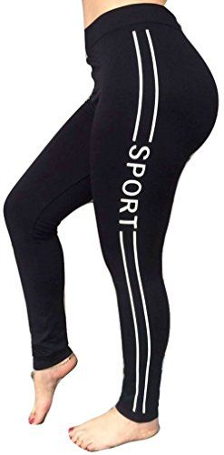 Black Cute Stretch Workout Maternity Legging Sports Gym Pants Clothes >>> You can find out more details at the link of the image.