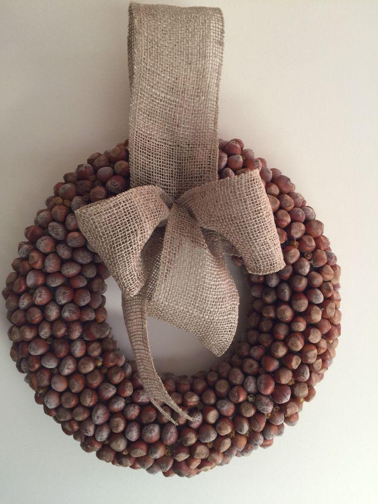 Natural-hazelnut-filbert-wreath