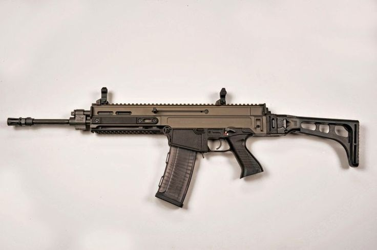 CZ-805 BREN S1 5.56x45 mm/.223 Remington caliber semi-automatic rifle, the latest creation in modern sporting guns from Ceská Zbrojovka
