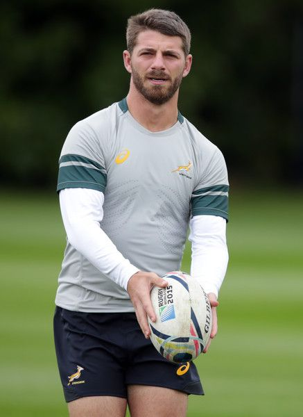 Willie Le Roux Photos Photos - (SOUTH AFRICA OUT) Willie le Roux of South Africa in action during the 2015 Rugby Wolrd Cup Springboks training session at Eastbourne College on September 14, 2015 in Eastbourne, England. - Weekly Bucket - Sept 14 - Sept 20