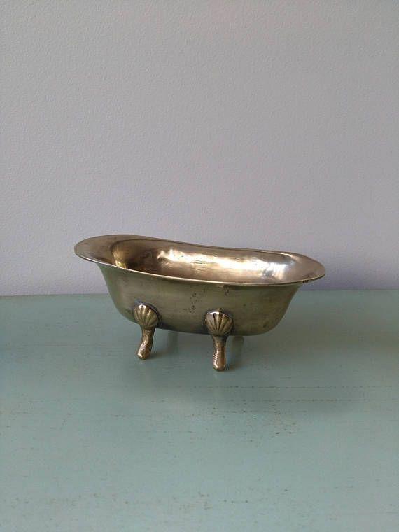 Bath Miniature Vintage Brass Lion Feet Baignoire Patte De Lion Laiton Baignoire