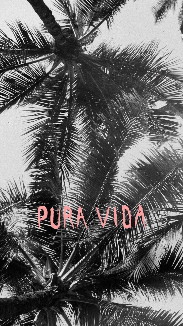 Pura vida - pure life, simple life