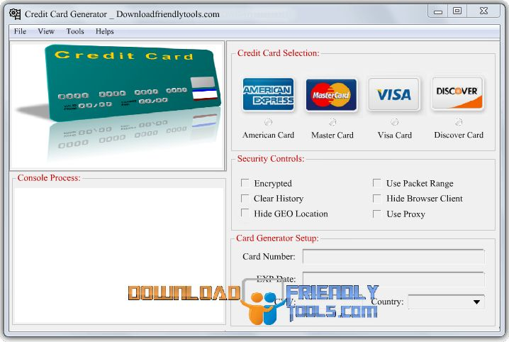 Free Credit Card Numbers Generator, Valid Fake CC .