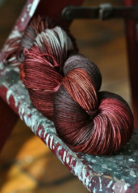 Malabrigo yarn - this would make a gorgeous...something. Love the natural colours in it.