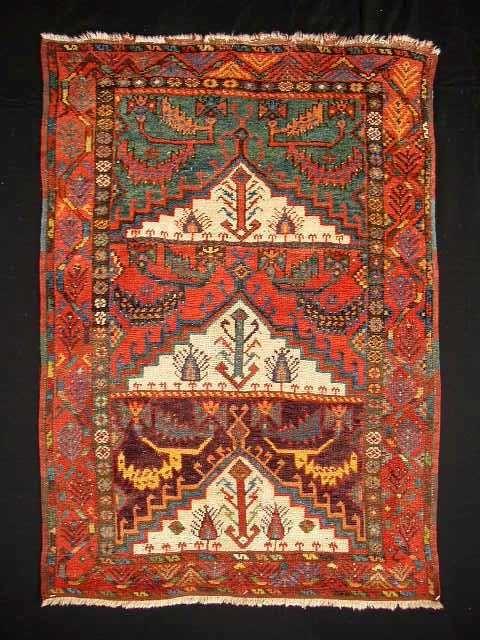 Kitchen Rug    Turkish Rugs: Three Mihrab Karapinar Prayer Rug from Ed Krayer