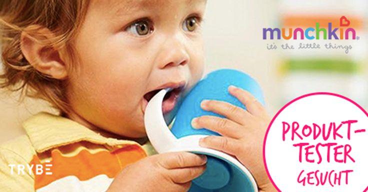 Das neue Testportal Trybesucht DICH als neuen Tester für den auslaufsicheren 360°Trinklernbecher von Munchkin für Babys und Kleinkinder. Trybe hat bereits in den USA und Großbritannien viele Nutzer und sucht regelmäßig Testfamilien für bekannte Marken wie zum Beispiel: Pampers, Philips Avent, Stokk