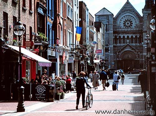 Downtown Limerick Ireland....my fave of the bigger cities I visited. Close second is Galway.