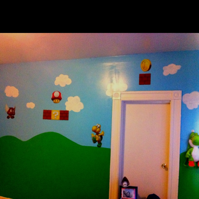 super mario bros room diy