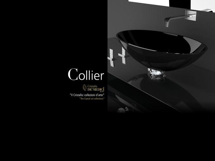 glass design collier lavabo de vidrio deumedici