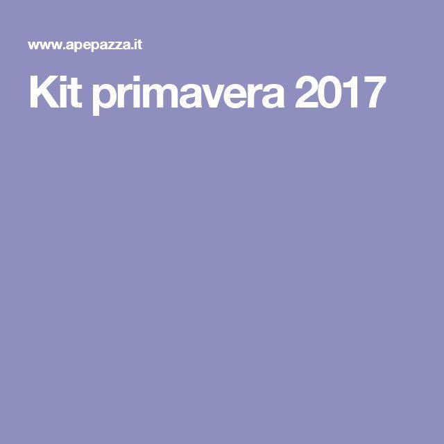 Kit primavera 2017
