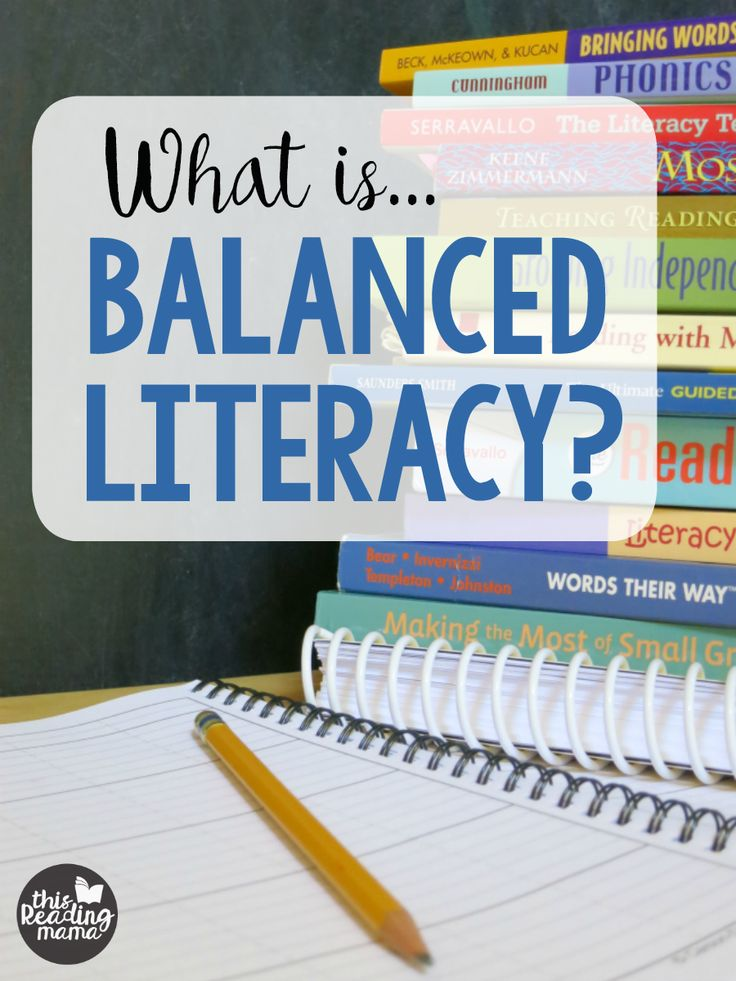 What is Balanced Literacy - Components of Balanced Literacy + a free printable page - This Reading Mama