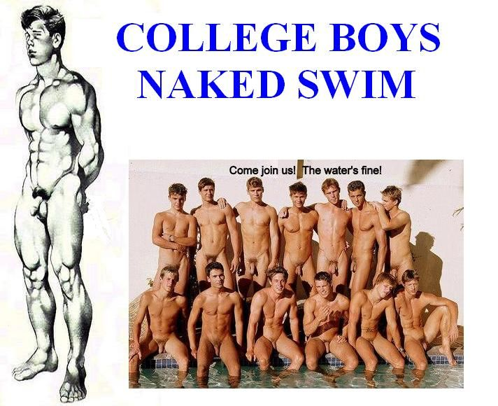 College boys naked swim