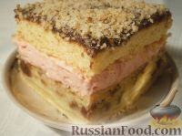 "Фото к рецепту: Пляцок (торт) ""Секрет монашки"" (Sekret mniszki)"
