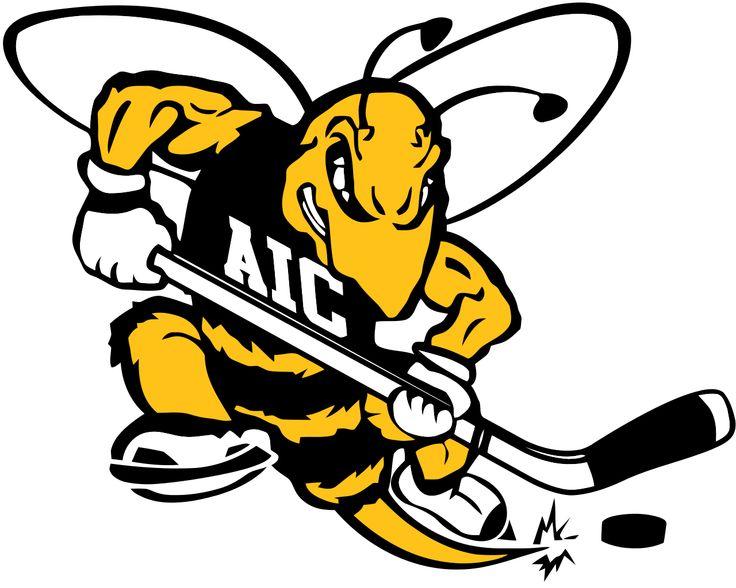 American International Yellow Jackets Hockey Google Search Hockey Logos Hockey Men S Hockey