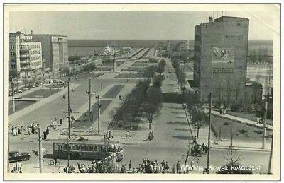 Skwer Kościuszki ok. 1968
