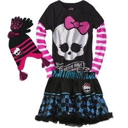 Monster High Fashion for young girls