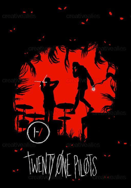 TWENTY ONE PILOTS Poster by theflightlessartist on CreativeAllies.com