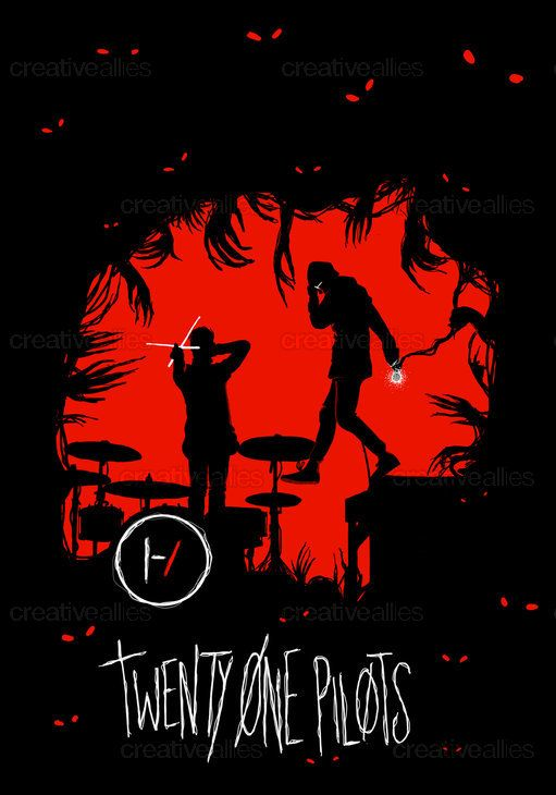 TWENTY ONE PILOTS Poster by theflightlessartist on CreativeAllies.com