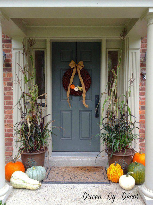 30 Adorable DIY Fall Porch Ideas  – Home makeover