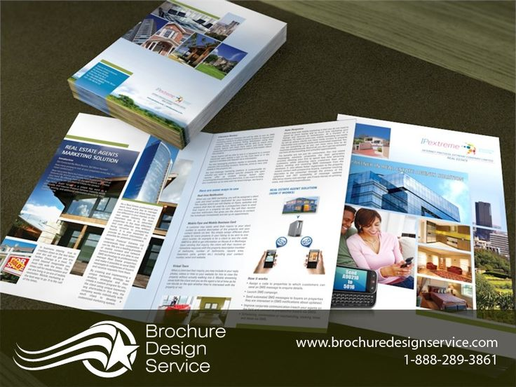 Bi Fold Brochures For IT Company   Brochure Designers