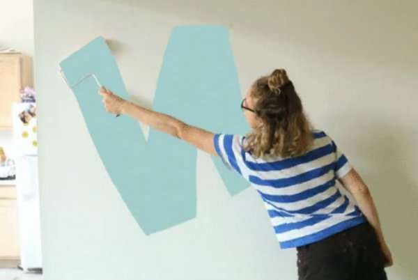 Peindre en W ou zig zag pour une meilleure finition