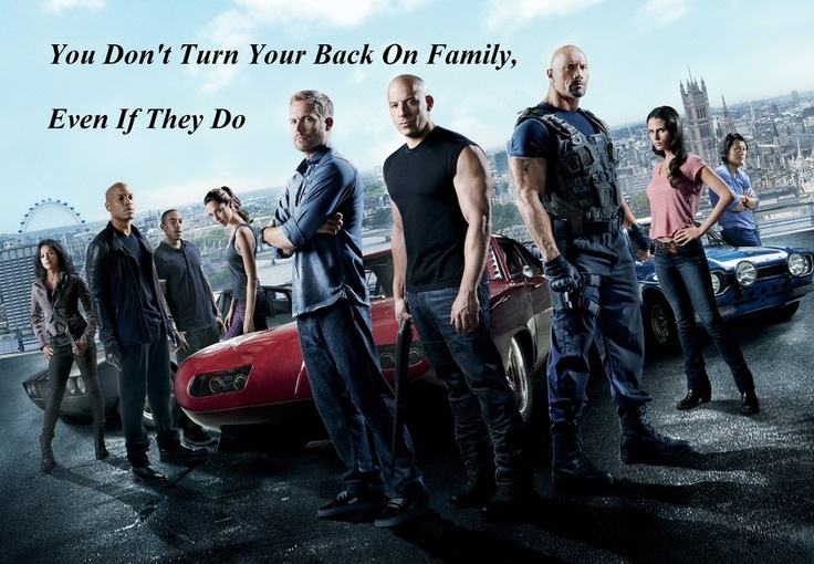 You Dont Turn Your Back On Family - Wallpaper