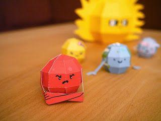 Kerajinan anak, miniatur tata surya (mars), ilmu pengetahuan untuk SD