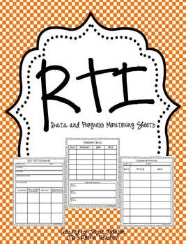 RTI- Progress Monitoring Recording Pages FREEBIE --- This includes three recording pages to help you keep track of your level 3 RTI students. Perfect for use in your Kindergarten, 1st, 2nd, 3rd, 4th, 5th, or 6th grade classroom. Click through to grab your FREE download today!