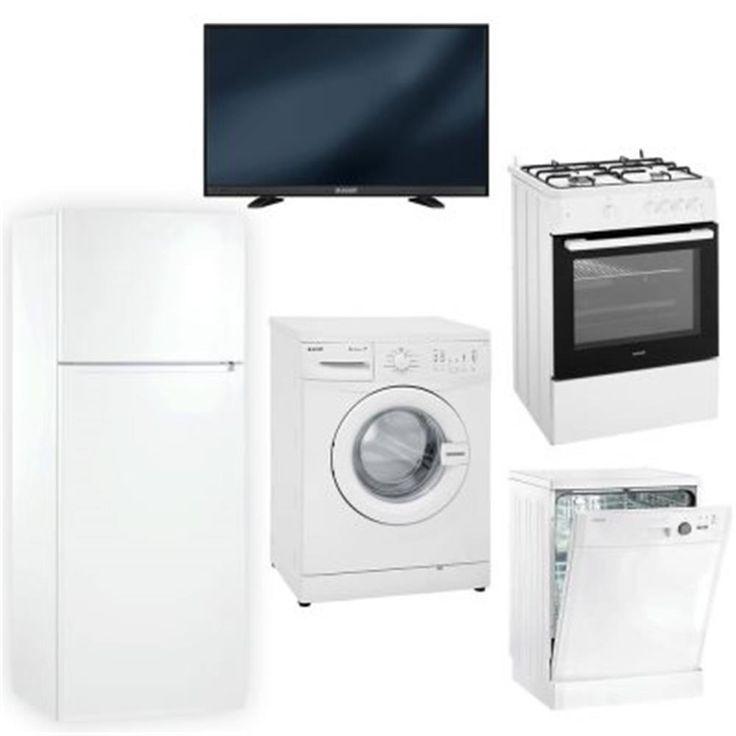 Arçelik Çift Kapılı Buzdolabı, Çamaşır Makinesi, 82 Ekran Led Tv, Bulaşık Makinesi,4 Gözü Gazlı Turbo Fırın Evlilik Paketi
