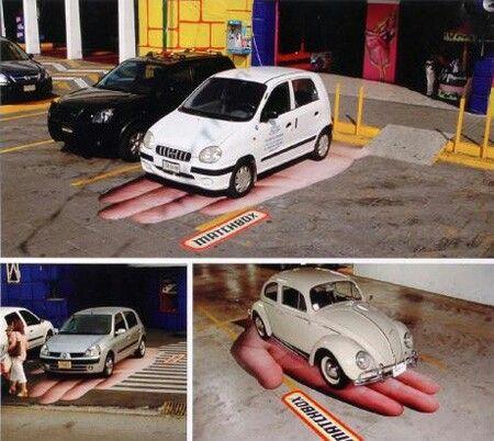 Mini car garage