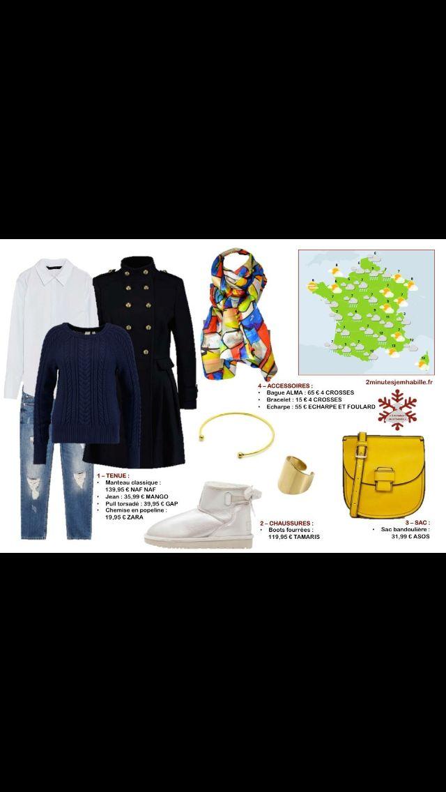 Dernier samedi avec la rentrée scolaire, du casual en bleu marine. Tous les conseils pour bien porter du bleu marine sur 2minutesjemhabille.fr #meteo #weather #bleu #marine #tenuedujour #tenue #lookoftheday #lookbook #lookdujour #look #fashionblogger #fashion #fashionstyle #blogger #blog #frenchgirl #french #paris #parisian #2minutesjemhabille