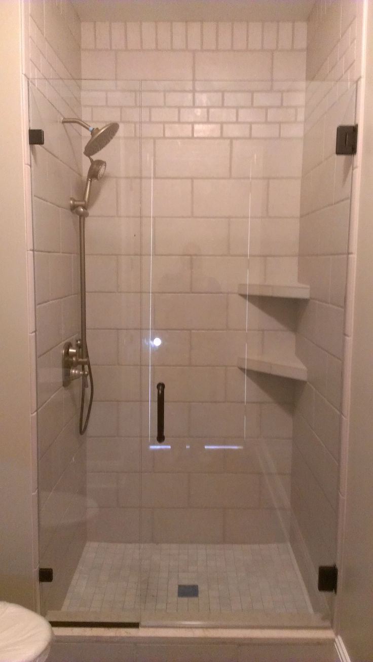 Tile Shower Tile Shower With Corner Shelves And Inlays 18