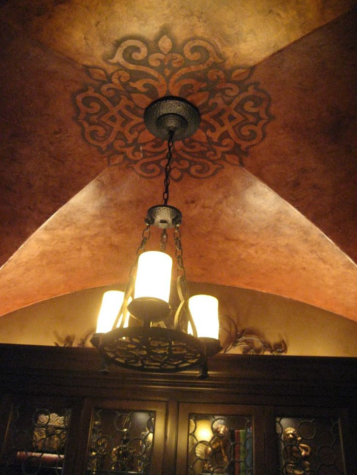 Best 25 vaulted ceiling decor ideas on pinterest coffee for Ceiling mural in a smoker s lounge