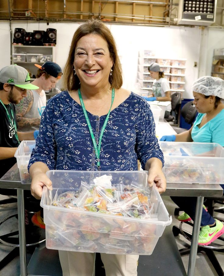 This 59-year-old mother of 2 is making millions selling legal marijuana gummies