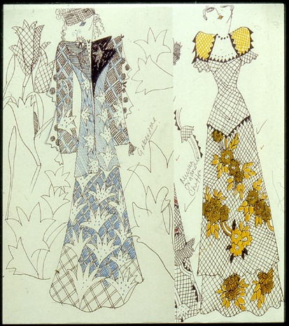 Ossie Clark sketch