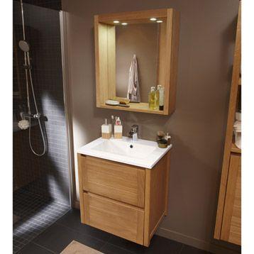Meuble de salle de bains Fjord | Leroy Merlin