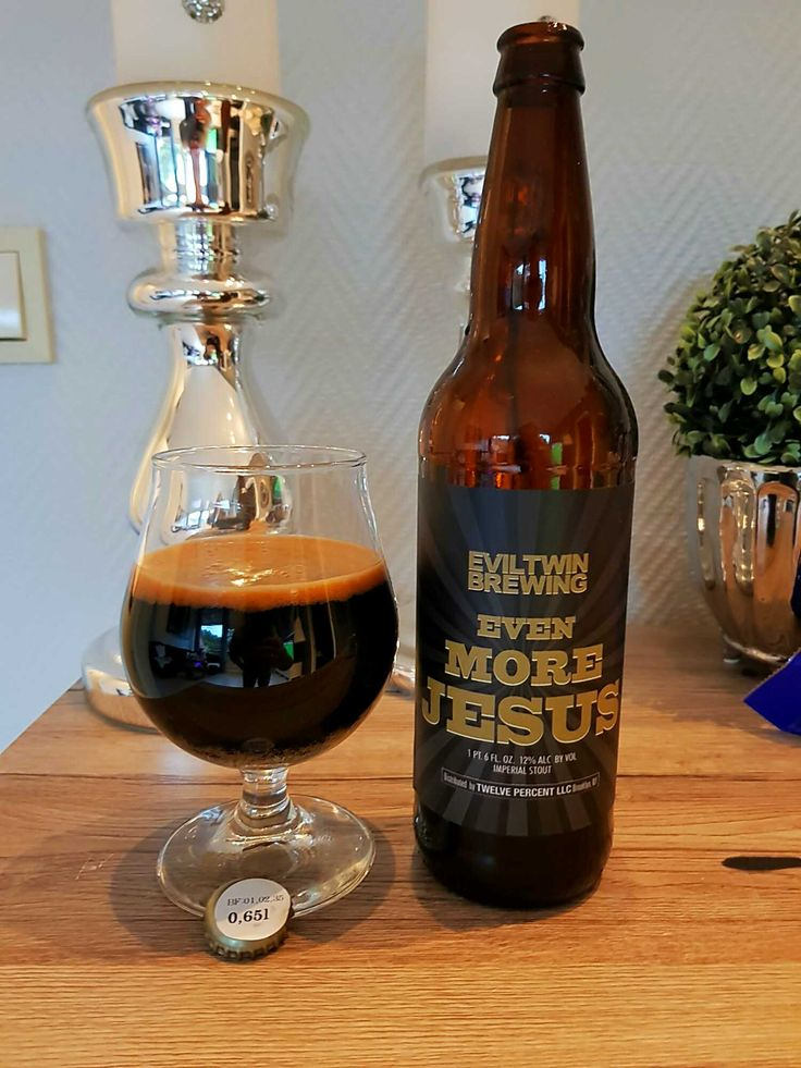 Even More Jesus by Evil Twin Brewing