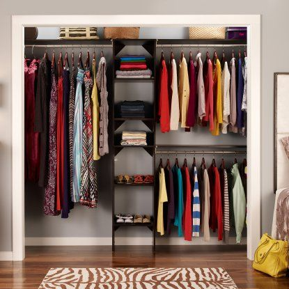 Starter Kit   Wood Closet Organizers At Hayneedle