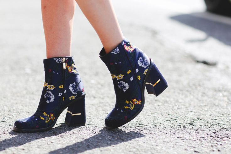 Up your boot game and dare to wear prints.