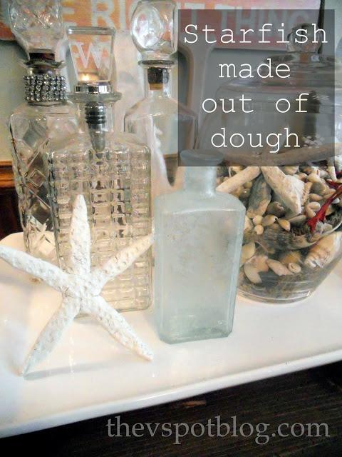 The V Spot: Seaside decor made from Salt Dough