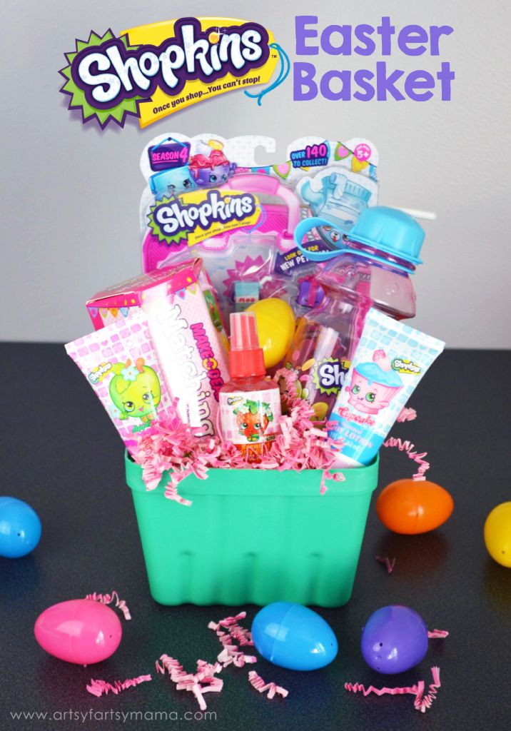 62 best girls gift ideas images on pinterest easter basket ideas shopkins easter basket at artsyfartsymama negle Image collections