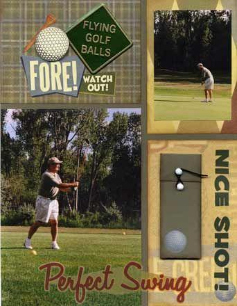 Golf layout
